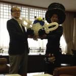 成田市長表敬訪問